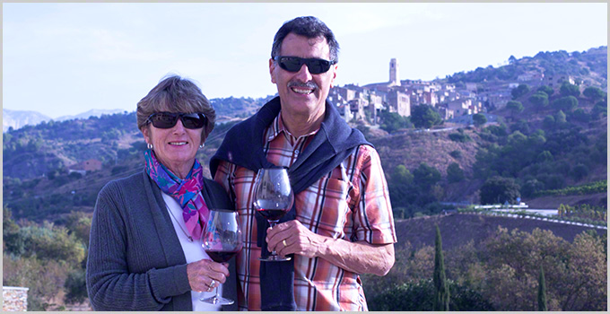 About us in Spain wine country