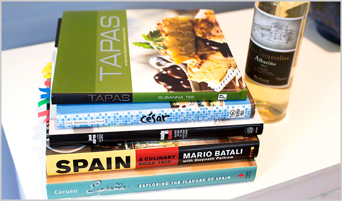 Spanish wine books