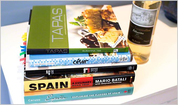Spanish wine books