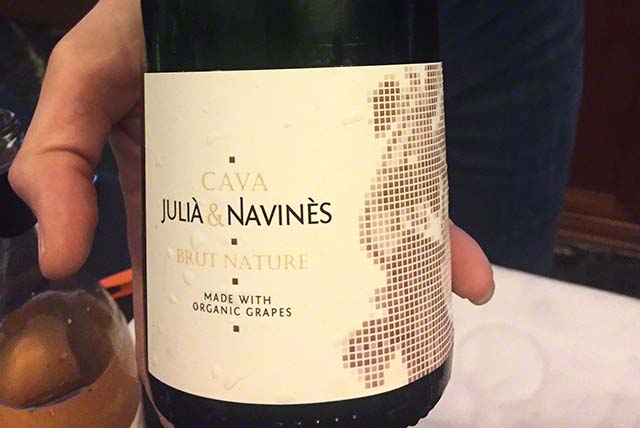 A lovely white wine from Catalan